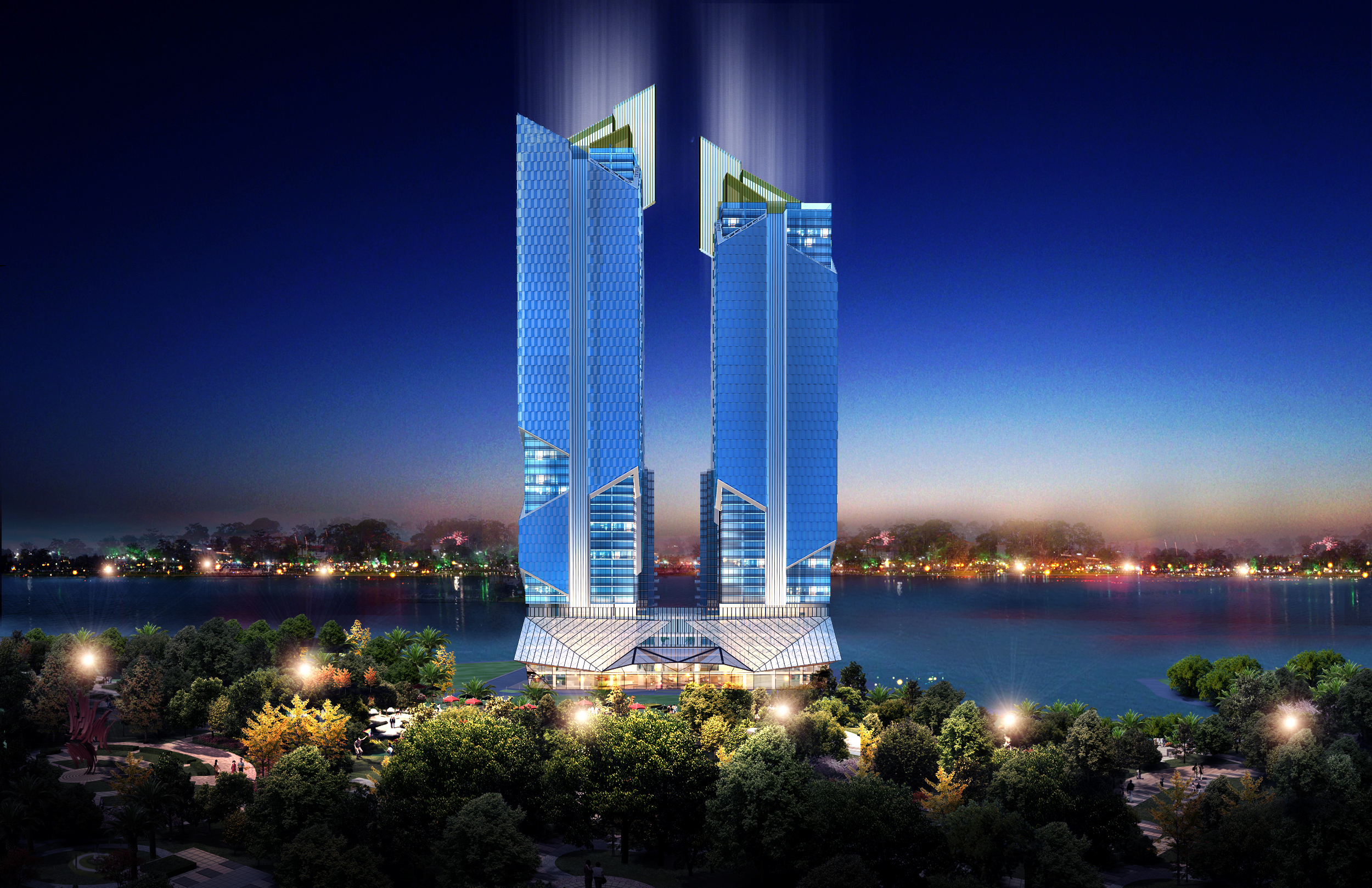 Tây Hồ View Twin Towers